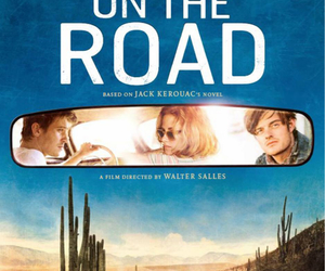 on the road, kristen stewart, and garrett hedlund image