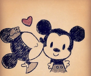 lovely, love, and mickey image