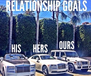 car, goals, and couple image