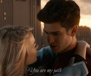 the amazing spiderman 2, peter parker, and gwen stacy image