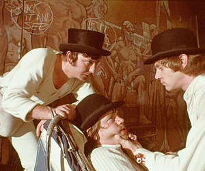 a clockwork orange, movie, and Stanley Kubrick image