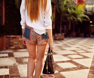 blogger, fashion, and shorts image