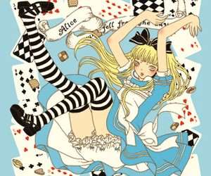 alice, blonde, and lolita image