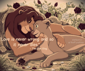couple, disney, and quote image