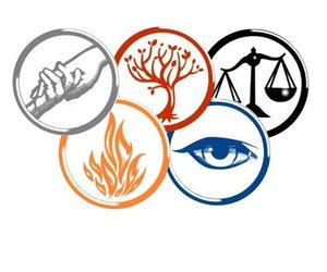 factions, divergent, and amity image