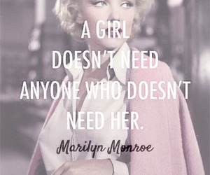 girl power, marilyn munroe, and inspiration image