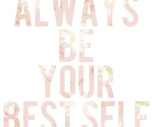 quote and girly image