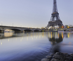 paradise, sunrise, and paris image