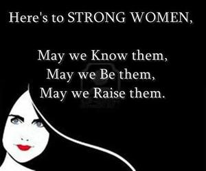 strong and women image