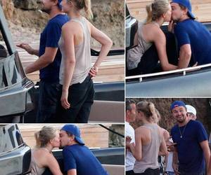 kissing, Toni Garrn, and love image
