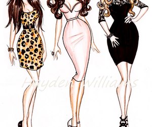 fashion, kardashians, and dress image