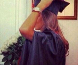 graduation and girl image