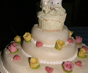cake, hello kitty, and dear daniel image