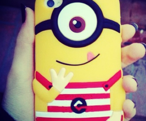 iphone, minion, and minions image