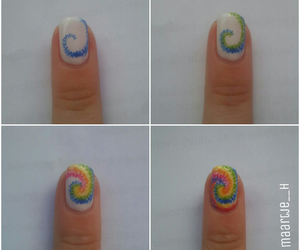 diy, nails, and colorful image