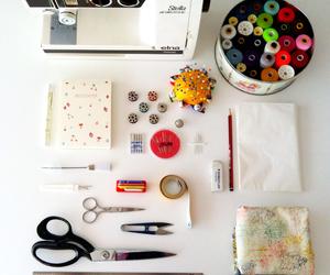 costura, hilos, and moda image