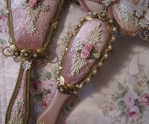 pink, vintage, and mirror image