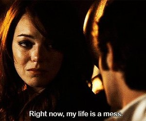 mess, life, and easy a image