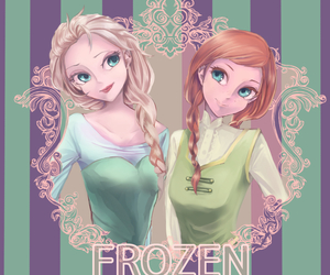 ana, frozen, and frozen elsa anna image