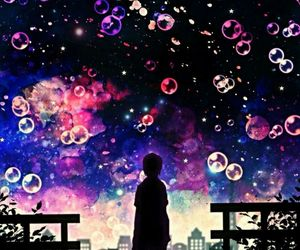 amazing, colourful, and bubbels image