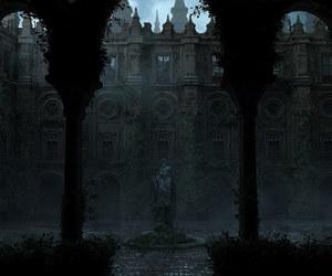 dark and statue image