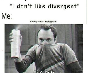 divergent, funny, and books image