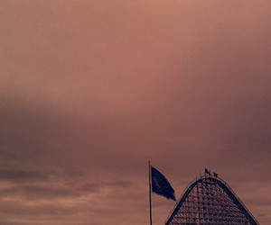 adventure, flag, and sky image