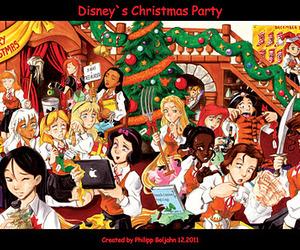 disney, princess, and christmas image