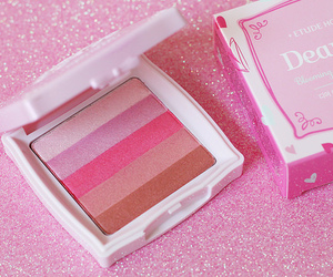 makeup, pink, and etude house image