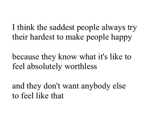 quote, sad, and happy image