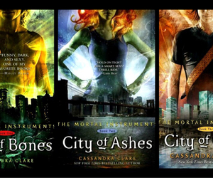 city of bones, city of glass, and city of ashes image