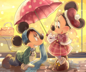 mickey mouse and minnie image