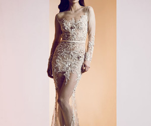 dress, gown, and ziad nakad image