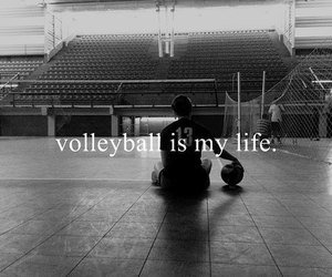 volleyball, love, and life image