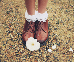flowers, shoes, and photography image