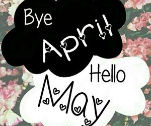may, april, and hello image