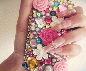 daisys, glamorous, and pink image