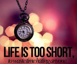 life, quote, and time image