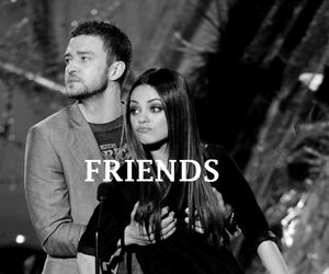 friends, justin timberlake, and Mila Kunis image