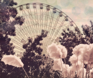 vintage, flowers, and pink image