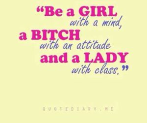 lady, girl, and attitude image