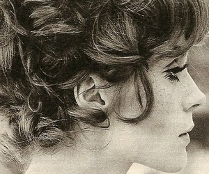 hair, vintage, and face image