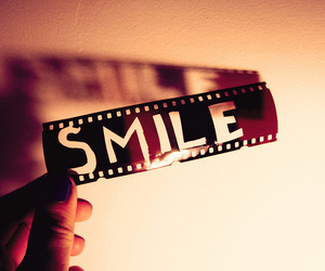 smile, happy, and film image