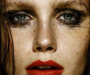 freckles, loren kemp, and lips image