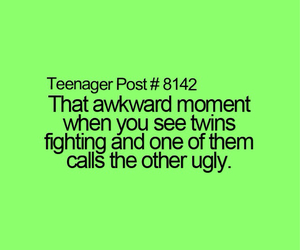 twins, funny, and ugly image