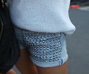 fashion, shorts, and studs image