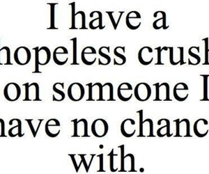 crush, love, and quotes image