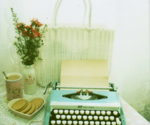 typewriter and vintage image