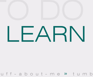 do, learn, and to do image
