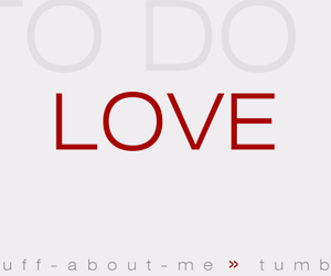 to do and love image